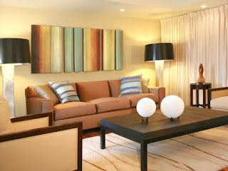 ruang tamu kecil minimalis sederhana