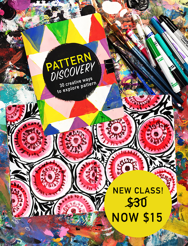 NEW CLASS! pattern discovery