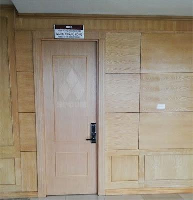 Khóa cửa điện tử dành cho thư viện