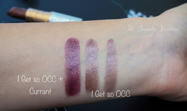 mac I get so occ swatches, mac mariah carey 2016, mac holiday 2016, mac mariah carey swatches
