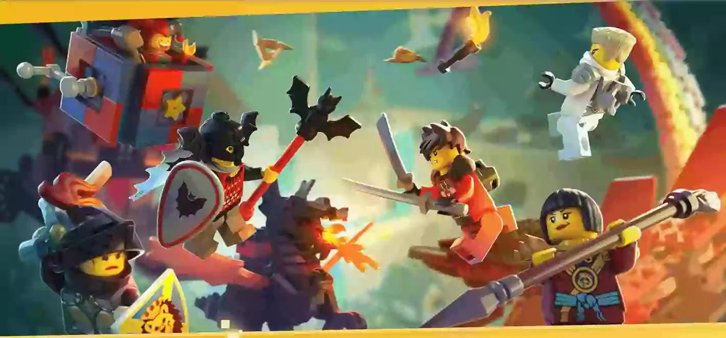 انغمس في عالم LEGOالنابض بالحياة المليء بالحركة والمعارك والمجموعات والأبطال!