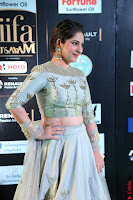 Gouri Munjal in a Tight Pista Coloured Ghagra Choli at IIFA Utsavam Awards 004.JPG