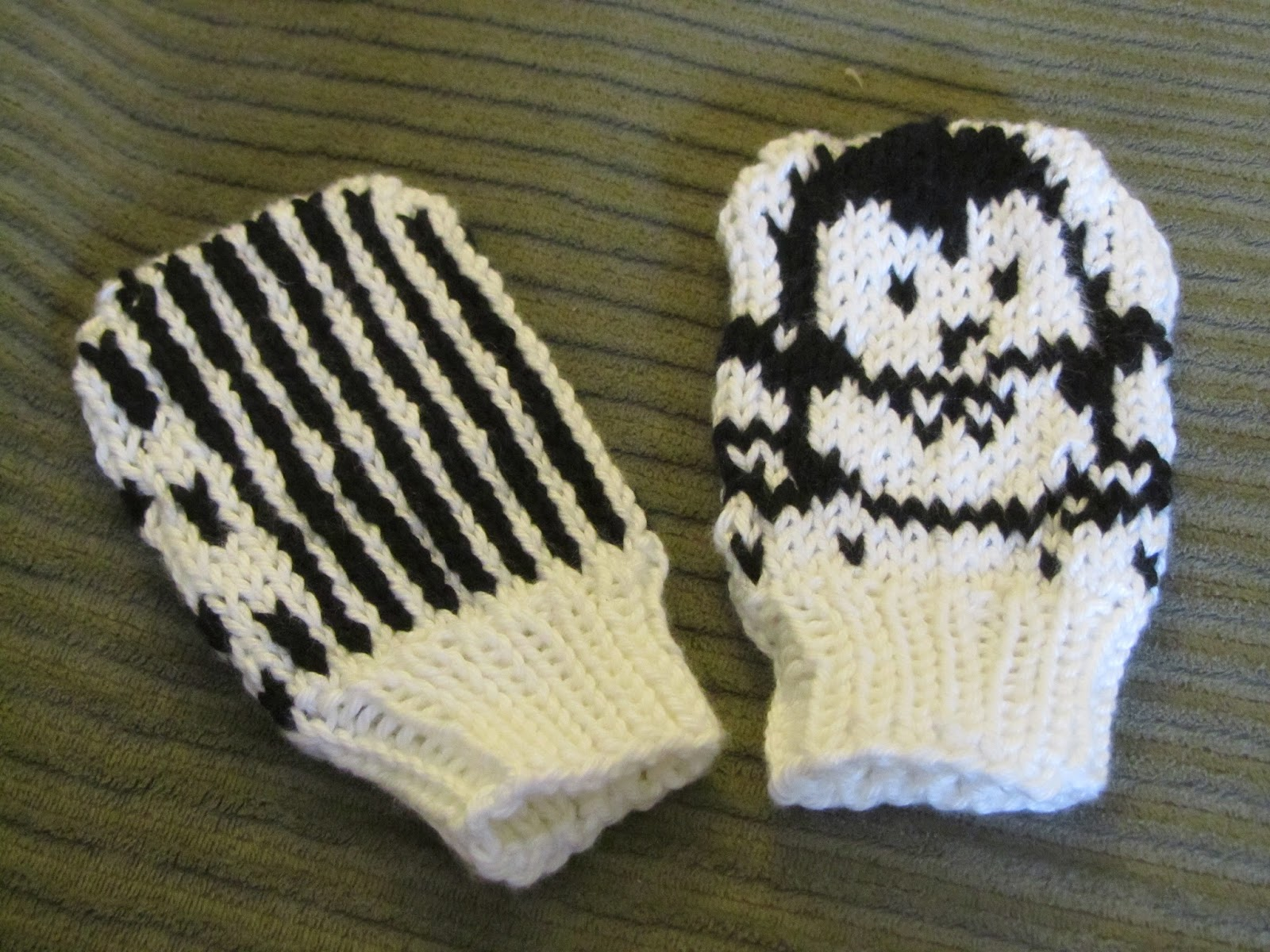 3b121a9ccac These Mitts were knit on size 5 dpn s with KnitPicks Shine Sport yarn in  Black (8 g