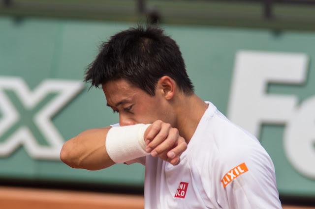 Kei Nishikori tennis roland-garros