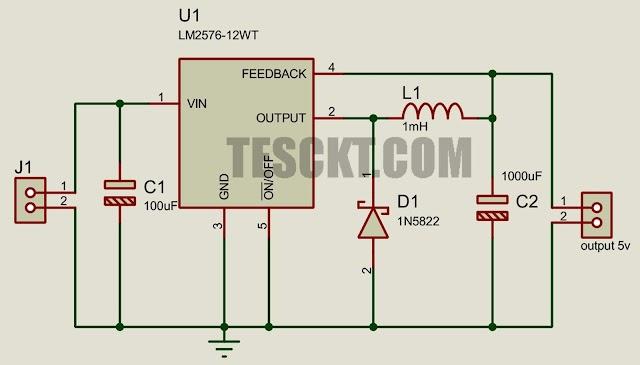 Automobile battery-based USB charger (5v – 25v)