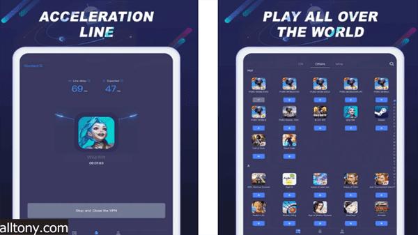 تطبيق تسريع PUBG و Free Fire ايفون و أيباد