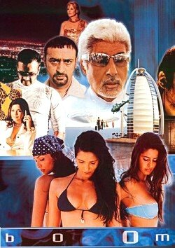Poster of Boom 2003 720p Hindi HDRip Full Movie Download