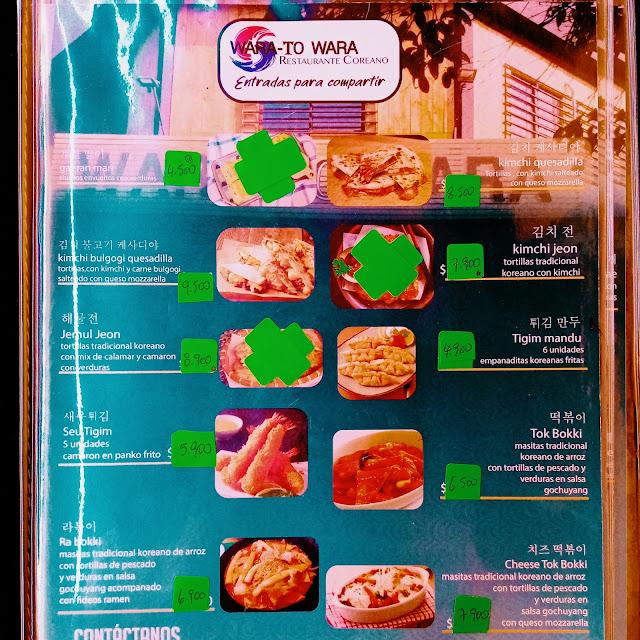 Wara to Wara - Carta