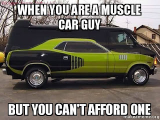 Funny Muscle Car Memes