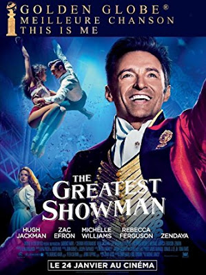 The Greatest Showman 2017 Eng 720p WEB-DL 800Mb ESub x264