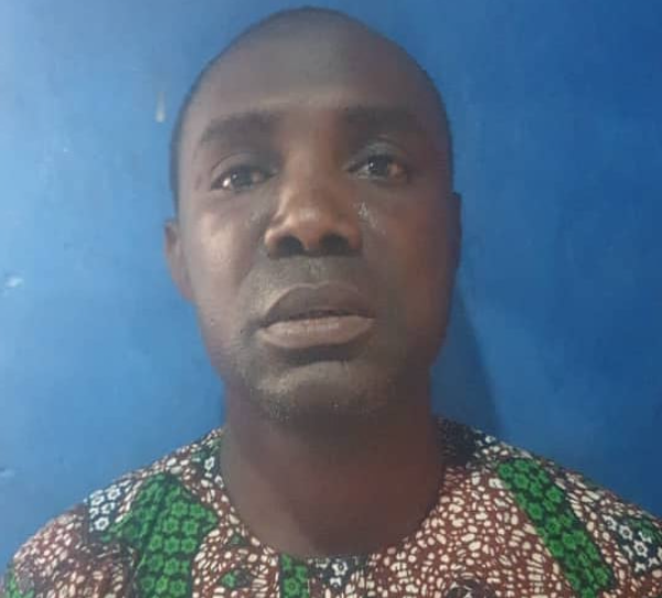 39-year-old man arrested for molesting his 5-year-old stepdaughter