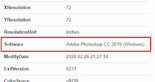 Mendeteksi Editan Dengan Metadata Foto
