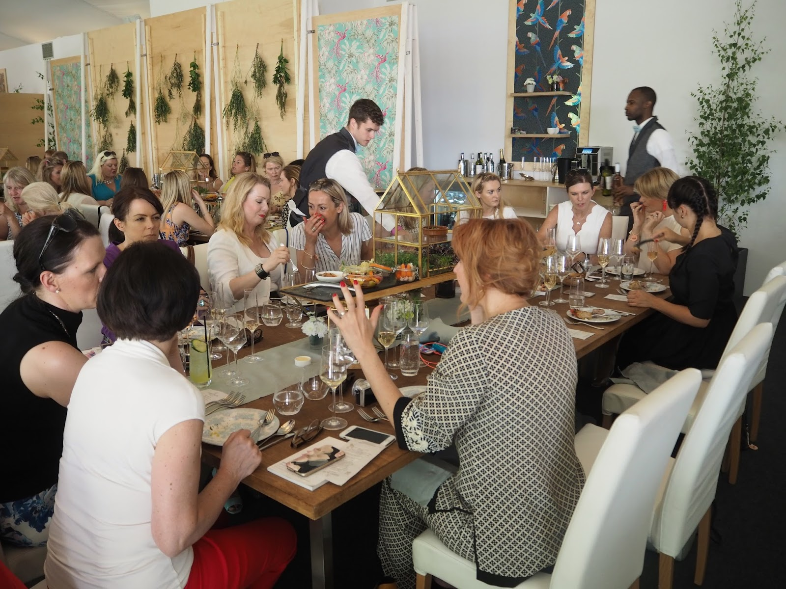 Lunch at Jardin Blanc, Chelsea Flower Show 2017