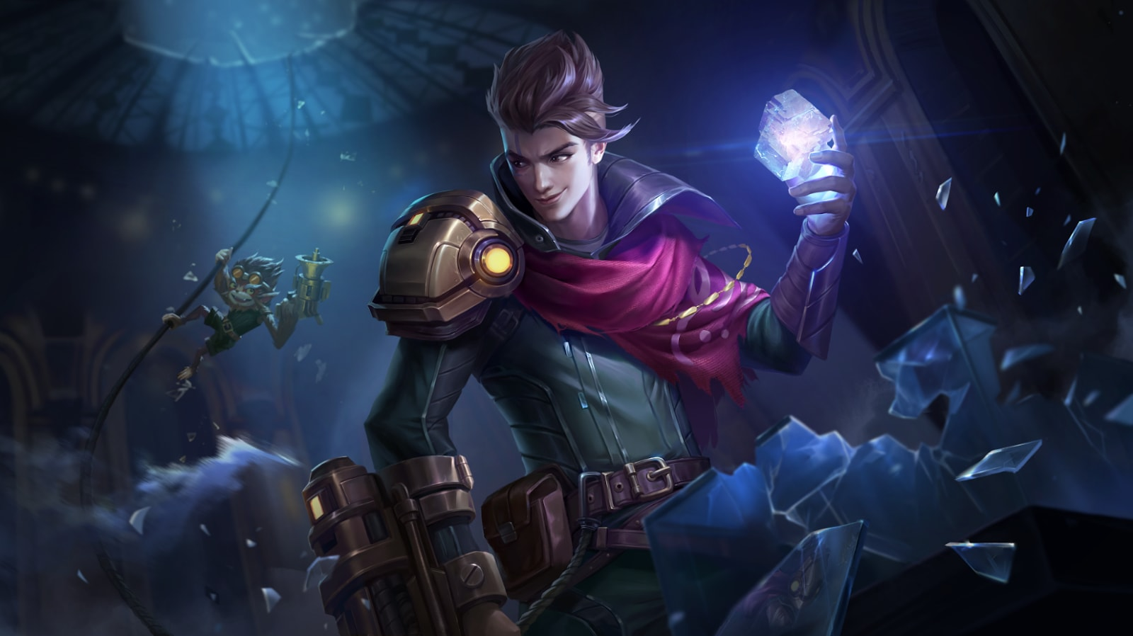 Wallpaper Claude Partners in Crime Skin Mobile Legends HD for PC