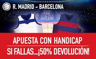sportium Promocion Euroliga: Real Madrid vs Barcelona 14 diciembre