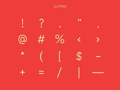 Yap hari ini admin membuatkan font lagi nih buat kalian Saros Slab Serif Free - Slab Font Free Download