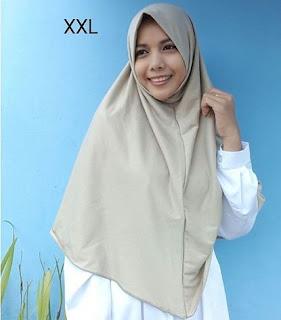 jilbab najwa polos