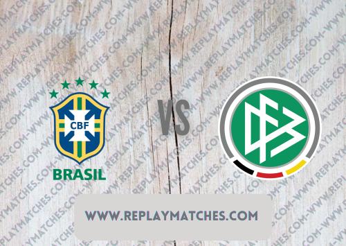 Brazil U23 vs Germany U23 -Highlights 22 July 2021