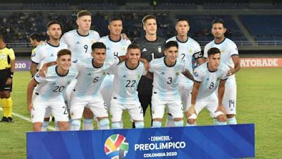 argentina sub 23 tokio 2020