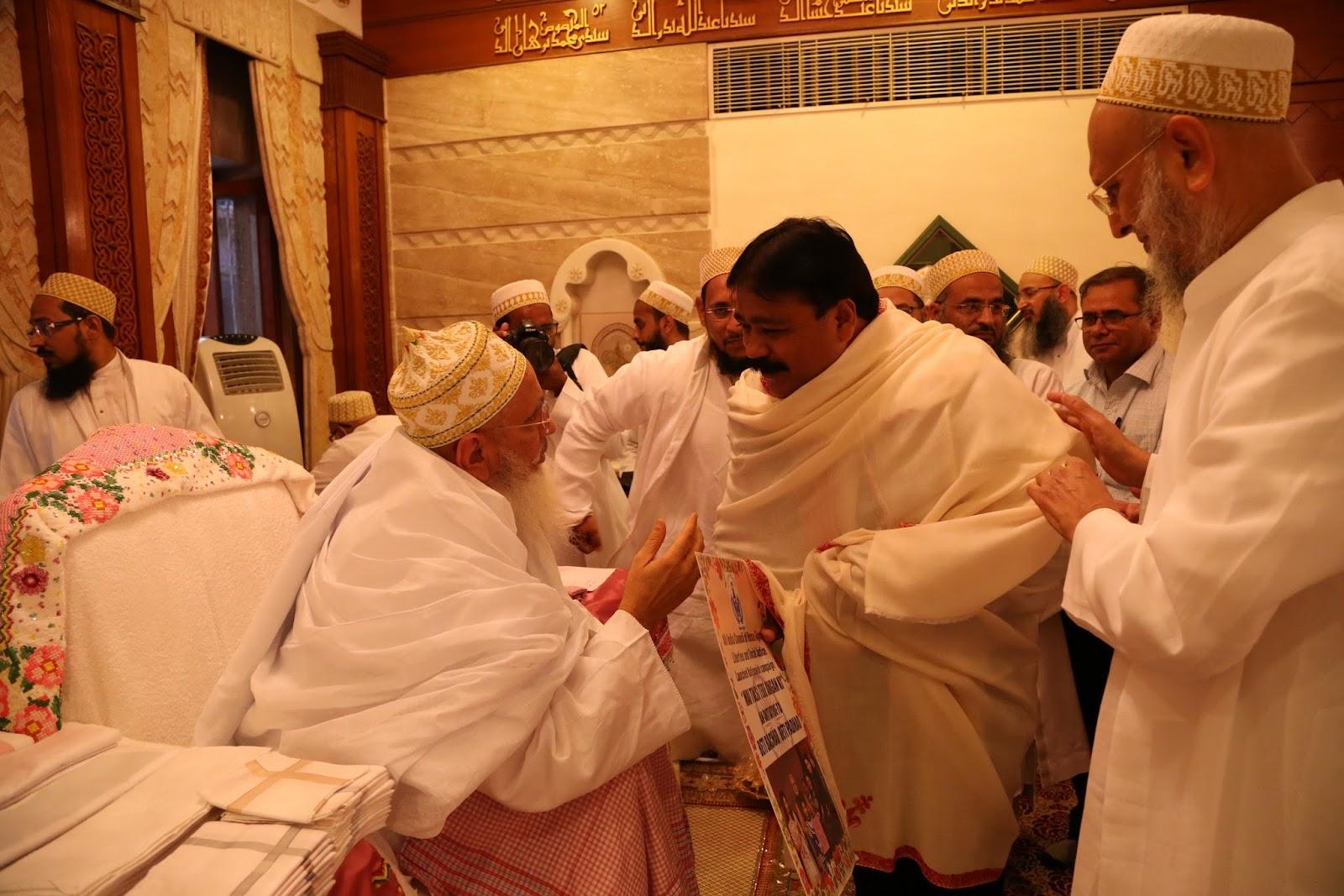His Holiness Dr  Syedna Aali Qadr Mufaddal Saifuddin TUS, the 53rd