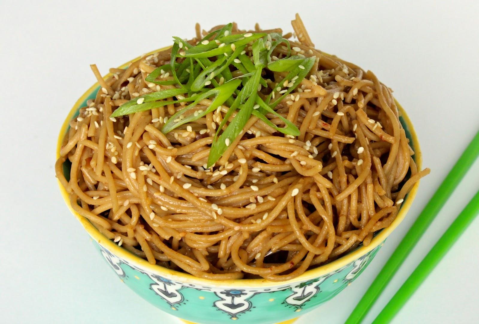 Cold Sesame Noodles Recipe — Dishmaps