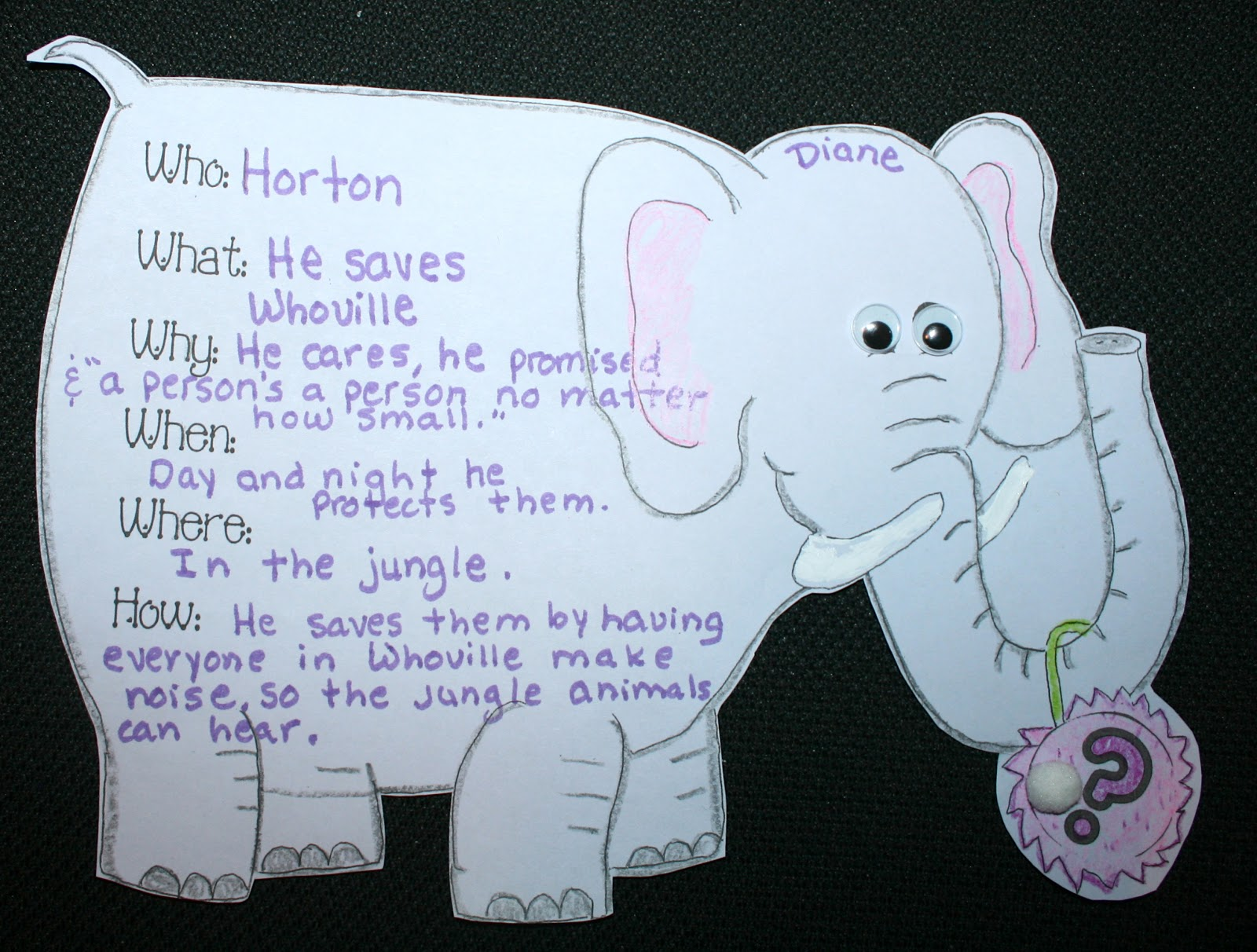 Classroom Freebies Horton And Elmer Activity Packet