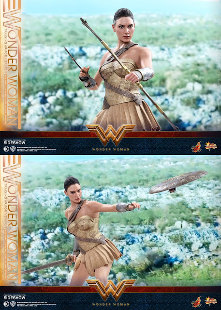 indonesia Hot Toys Wonder Woman Training Armor