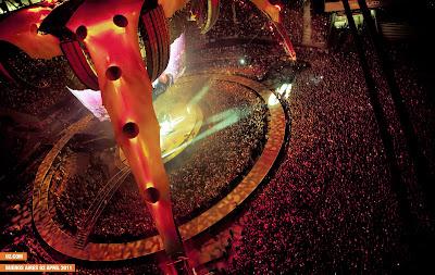 Wallpaper de U2 360 Tour 1900x1200: Buenos Aires 2011
