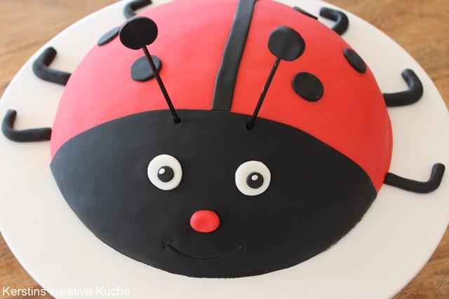 Kerstins Kreative Kuche Marienkafer Kuchen