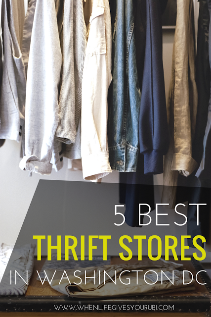 Love to thrift shop but don't know where the best thrift shops in Washington DC are? Click to read the best 5 thrift shops in Washington DC