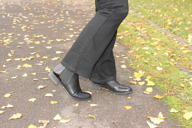 boots made by sarenza, chapeau headict, bootcut, les petites bulles de ma vie