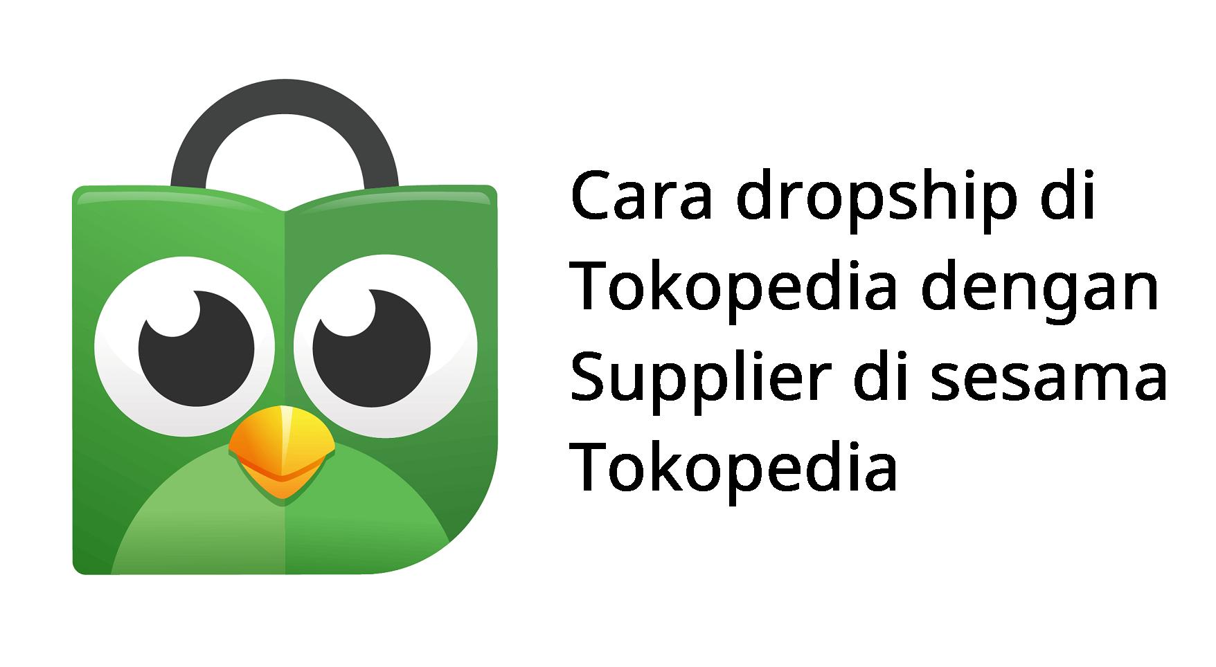 cara jualan dropship supplier dari tokped