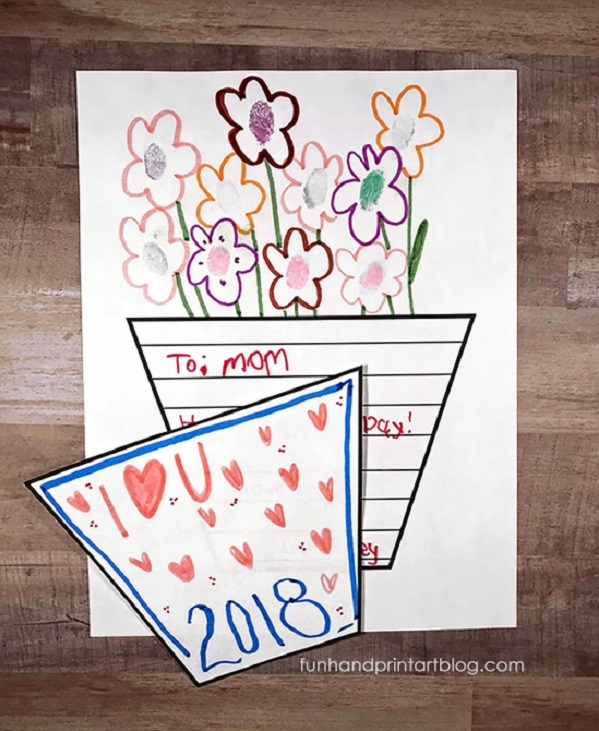 Printable Mother S Day Colouring In Cards Bookmarks Questionnaires Finding Myself Young
