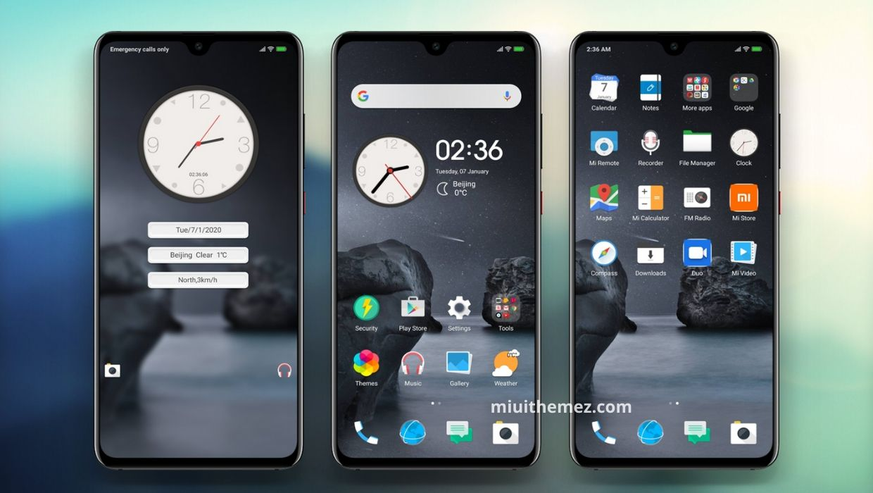 HTC v11 MIUI Theme for Xiaomi Devices