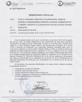 El llenado de la Forma 14-08 del IVSS, se estará realizando en la ZET de 8:00am a 11:30am y de 1:30pm a 3:00pm (+CIRCULAR)