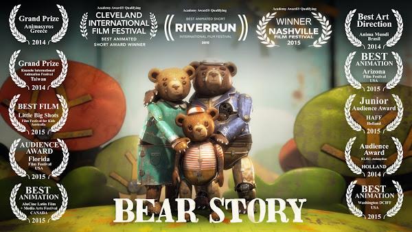 Historia de un Oso - BEAR STORY - Official Website - BenjaminMadeira