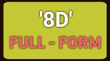 8D Full Form problem solving techniques