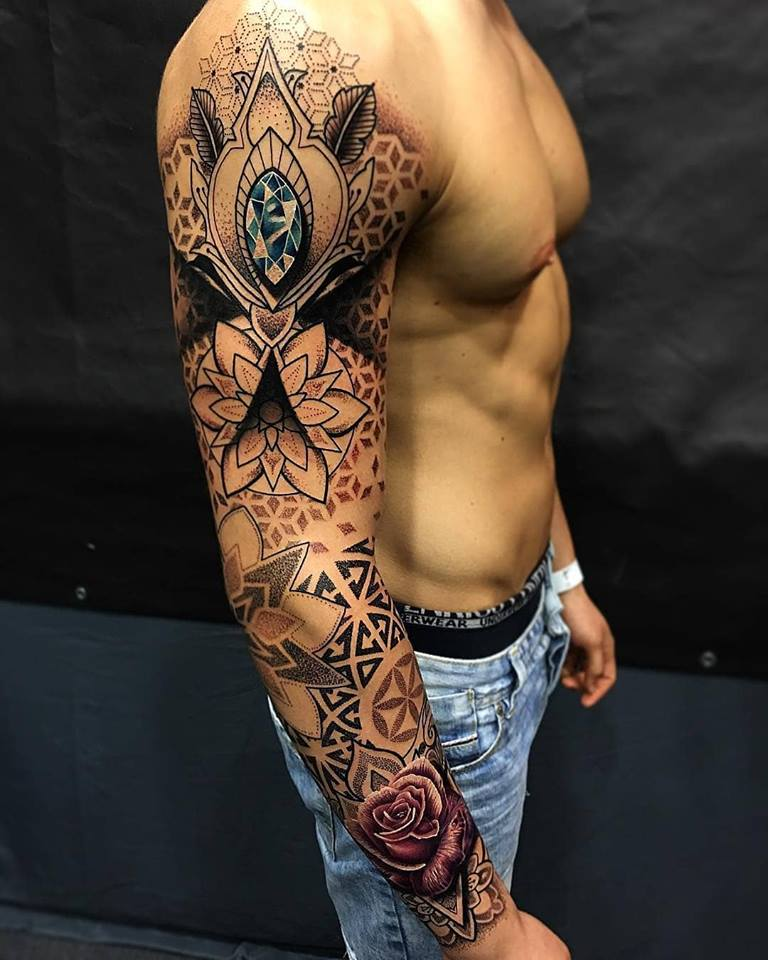 So Cool Sleeve Tattoos For Men