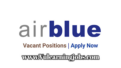Air Blue Jobs 2020