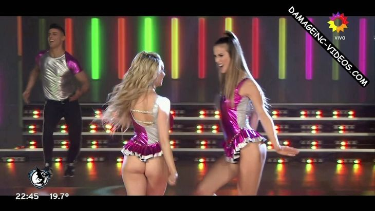 Cecilia Bonelli and Gisela Bernal sexy butts upskirts Damageinc Videos HD