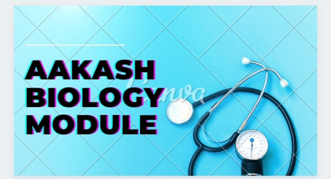 Aakash Biology Module Pdf for Neet