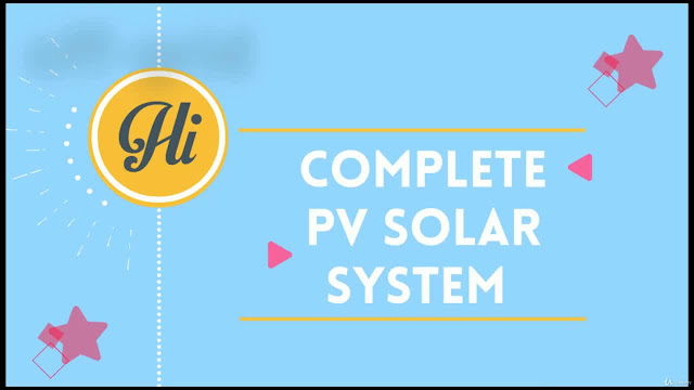 The Complete 2020 PV Solar Energy with PVsyst|Excel|AutoCAD.