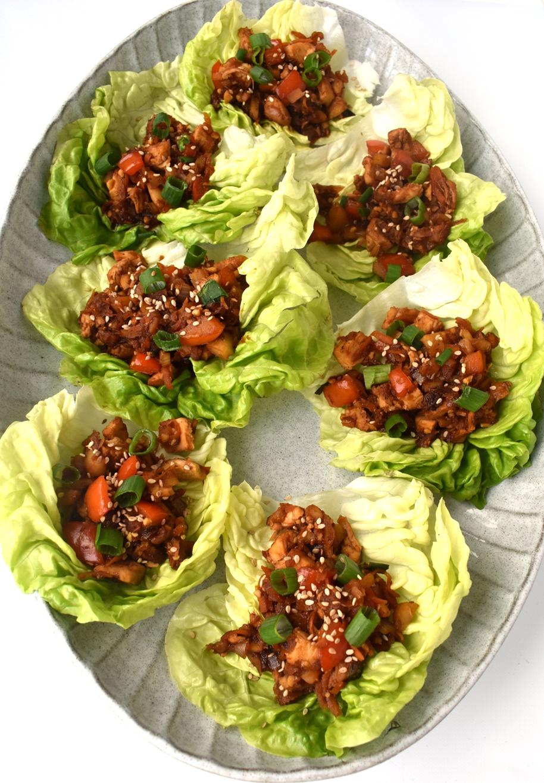 Copycat Healthy PF Chang's Chicken Lettuce Wraps