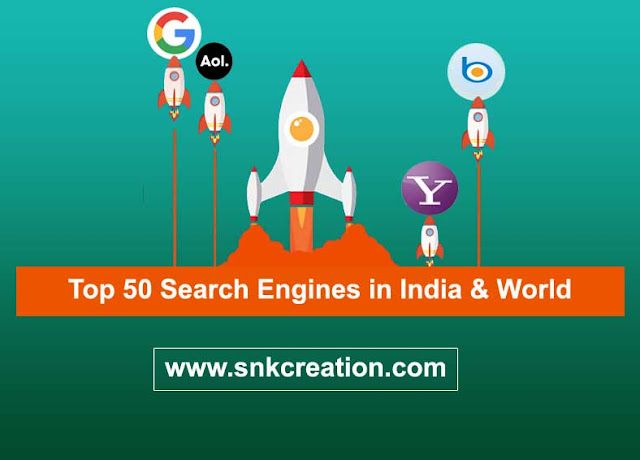 What are some famous Indian search engines?