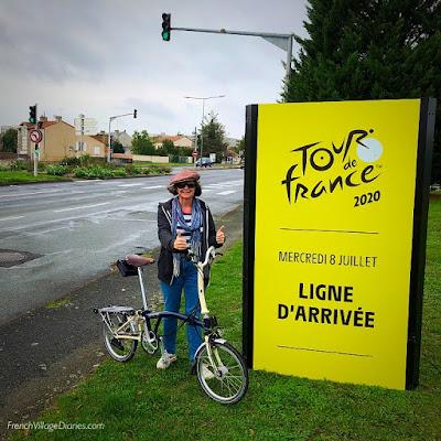 French Village Diaries Poitiers Insolite Tour de France 2020