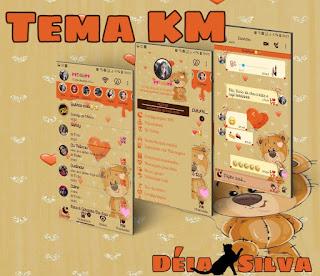 Cute Teddy Bear & Love Theme For YOWhatsApp & Fouad WhatsApp By Deia Silva