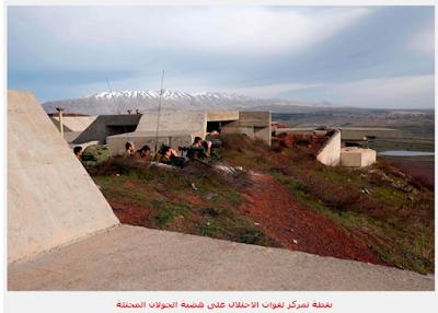 المواجهات السورية الاسرائيليةالمواجهات السورية الاسرائيلية