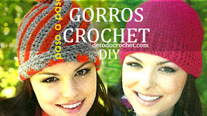Gorros Tejidos a Crochet Patrones 💋 Paso a paso