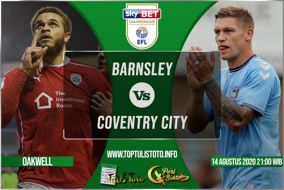 Prediksi Barnsley vs Coventry City 14 Agustus 2021