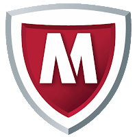 McAfee Security & Power Booster Logo